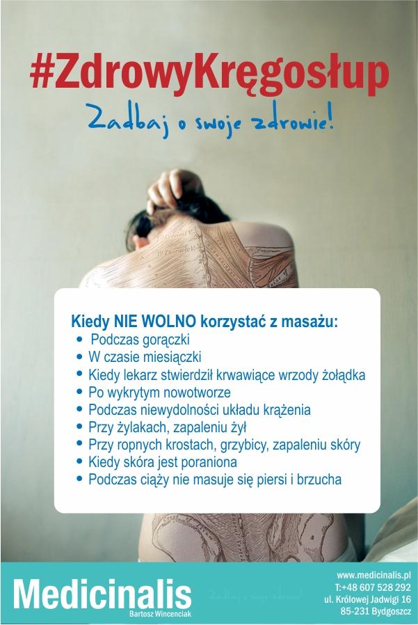 Przeciwwskazania do masażu